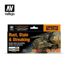 MODEL COLOR SET: STAINING, RUST AND STREAKING (8)