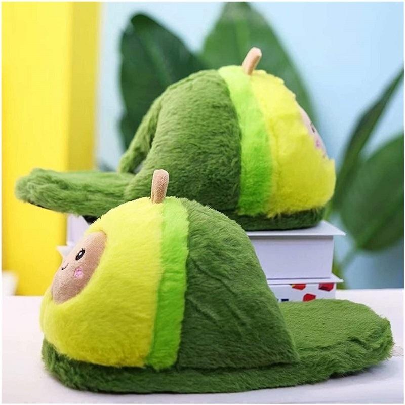 Авокадо тапочки домашние
