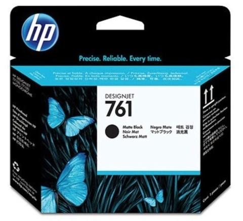 Оригинальная печатающая головка HP CH648A 761 черный матовый