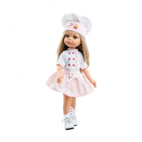 ПРЕДЗАКАЗ Кукла Карла кондитер, Паола Рейна, 32 см НОВИНКА 2021