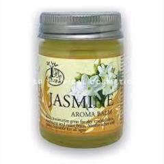 Цветочный аромабальзам для массажа и ухода за кожей жасмин BE THANK