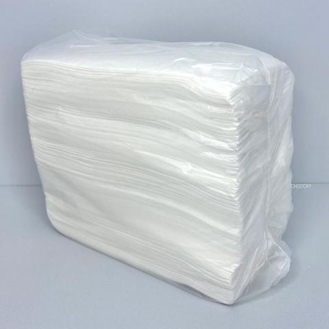 Салфетки Альбатрос 33х33 см 2сл. 1/8 сложения (150 шт.) белые (Салфетки 29)