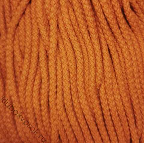 Шнур полиэфирный 5мм с сердечником 200м, №49 Оранжевый