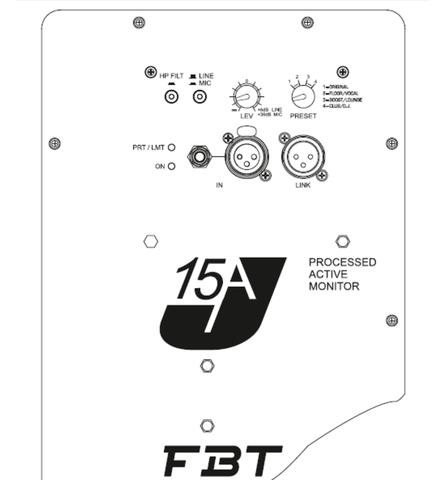 Акустические системы активные FBT J 15A