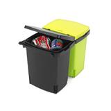 Ведро д/мусора двухсекционное (2х10л) встраиваемое, артикул 482205, производитель - Brabantia, фото 2