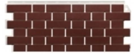 Фасадная панель Fineber Кирпич облицовочный Britt красный 1130х463 мм