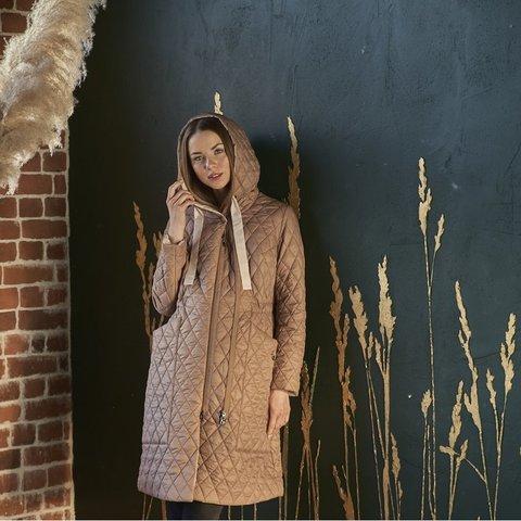 Пальто демисезонное 2 в 1 цвет бежевый