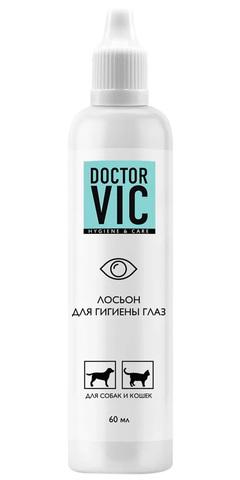 Лосьон Doctor VIC для гигиены глаз кошек и собак, 60 мл