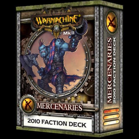WARMACHINE Mk II - 2010 Mercenary Deck