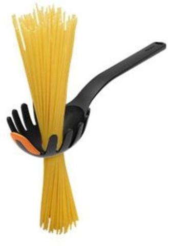 Ложка для пасты Fiskars Functional Form 1027301 черный/оранжевый