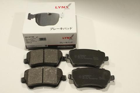 Колодки тормозные передние LYNXauto BD-5739