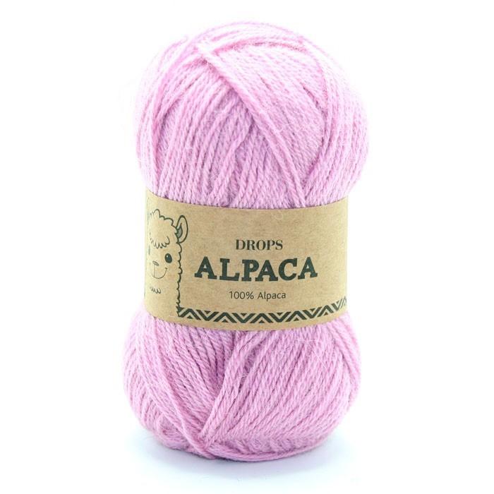 Пряжа Drops Alpaca 3720 розовый