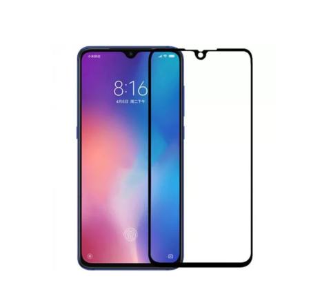 Защитное стекло 5D для Xiaomi Mi 9, черное