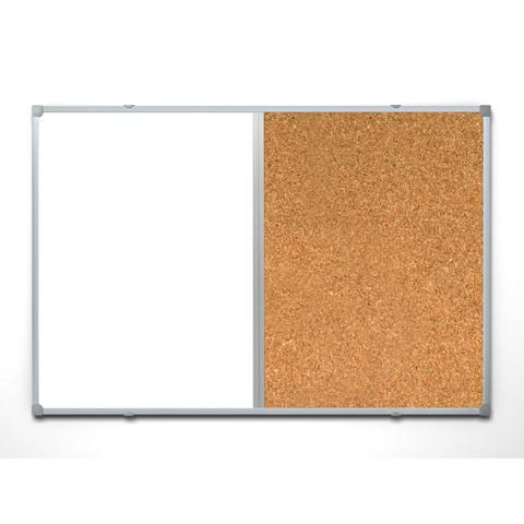 Доска комбинированная Attache 90х120 см алюминиевая рама