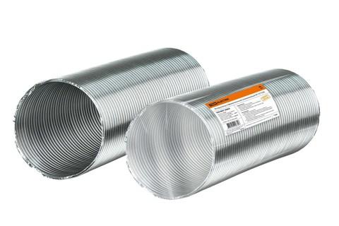 Воздуховод гофрированный алюминиевый Ø110 TDM