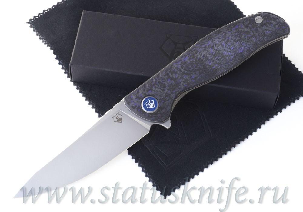 Нож Широгоров F3 NS M390 Ф3 Purple CF 3D подшипники