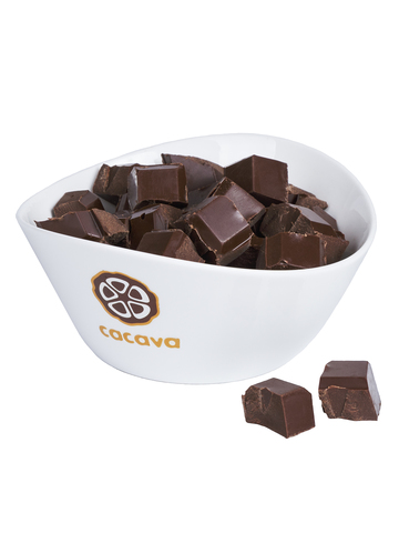 Тёмный шоколад 70 % какао (Мадагаскар, Åkesson), внешний вид