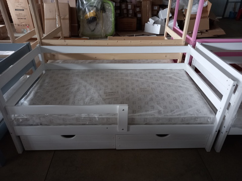 Подростковая кровать Софа Incanto «Dream Home» , цвет белый без ящиков