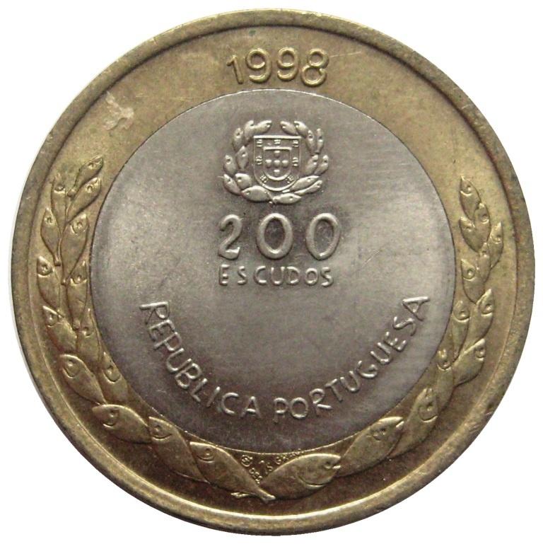 200 эскудо 1998 года