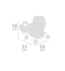 DeCuevas Коляска для куклы с сумкой серии Мартина, 56 см (86033)
