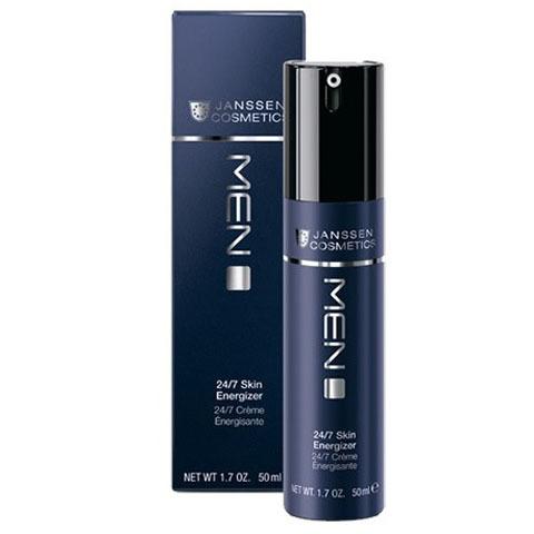 Janssen Man: Легкий Anti-Age дневной крем для лица 24-часового действия (24/7 Skin Energizer)