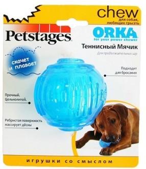 """Petstages Игрушка для собак Petstages """"ОРКА теннисный мяч"""" 6 см e031ddf6-37ff-11e0-3890-001517e97967.jpg"""