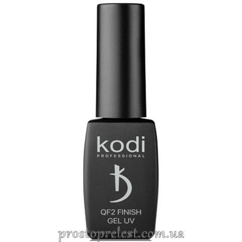 Kodi Professional QF2 Finish Gel UV - Финишное покрытие (без липкого слоя)