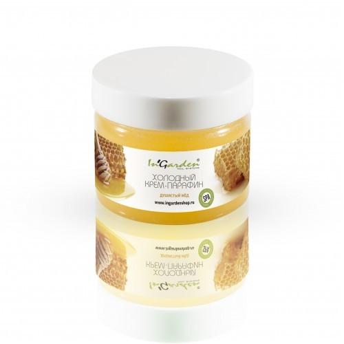 Парафинотерапия In'Garden, Холодный крем-парафин, душистый мед, 250 мл Крем-парафин_Мёд__250_мл.jpg