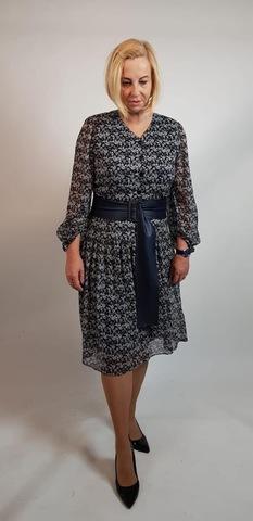 Платье Aleksandra 3255 Афра шифон полянка