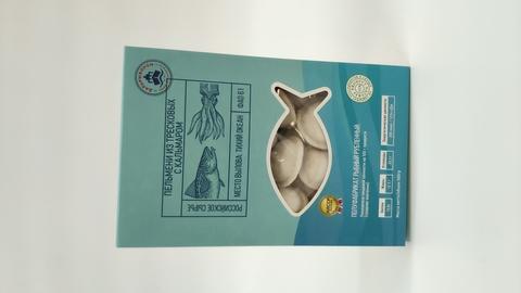 Сахалин  Пельмени   из тресковых  с кальмаром  500 гр(1/8)