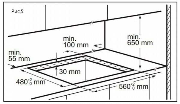 Газовая варочная панель Maunfeld EGHS.64.6CS/G