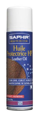 Пропитка для гладкой и жированной кожи Saphir HUILE Protectrice, 200мл.