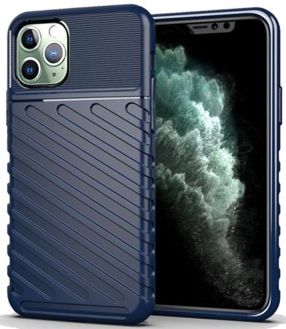 Чехол для iPhone 11 Pro Max цвет Blue (синий), серия Onyx от Caseport