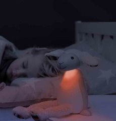 Ночник Барашек Фин ночью