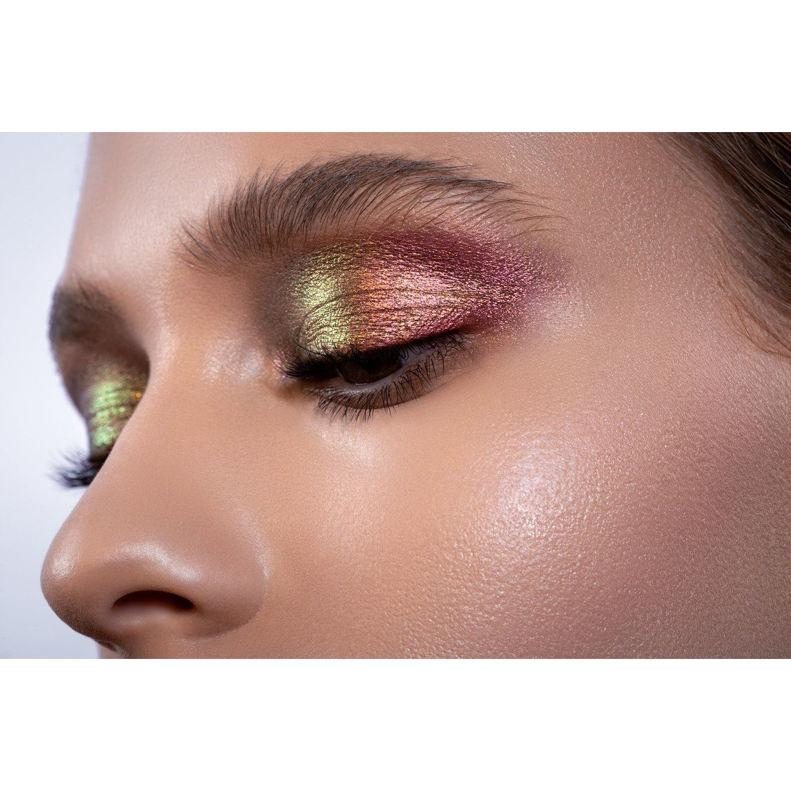 Natasha Denona Chromium Liquid Eyeshadow Infra Nude