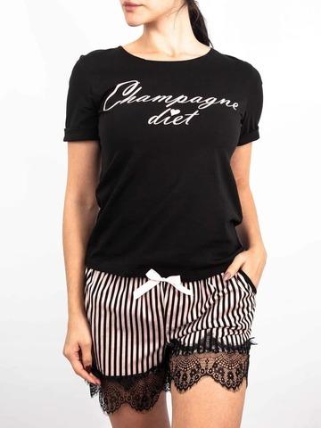 Комплект женский футболка+шорты
