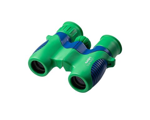 Бинокль GAUT Izar 6x21, призмы Roof BK7, цвет - зеленый/голубой