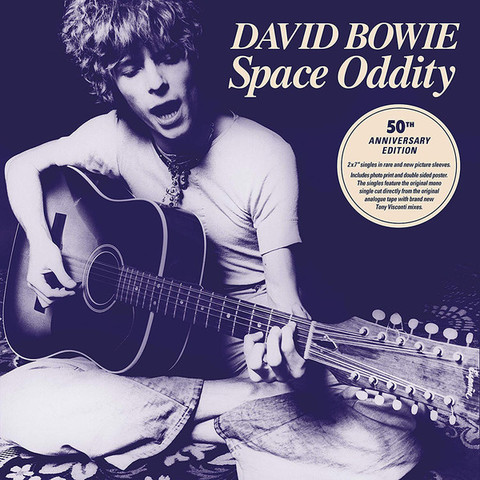 Виниловая пластинка. David Bowie - Space Oddity (50TH Anniversary 7