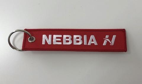 Брелок для ключей Nebbia red