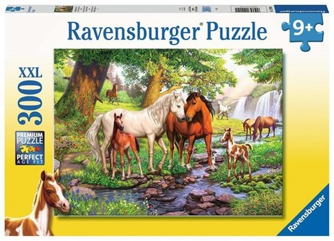 Puzzle Horses by the stream 300 pcs