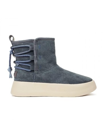 UGG CLASSIC BOOM ANKLE BOOT GREY