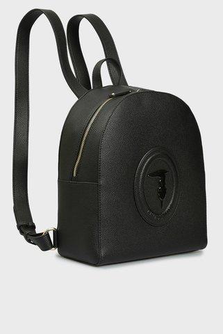 Женский черный рюкзак LISBONA Trussardi