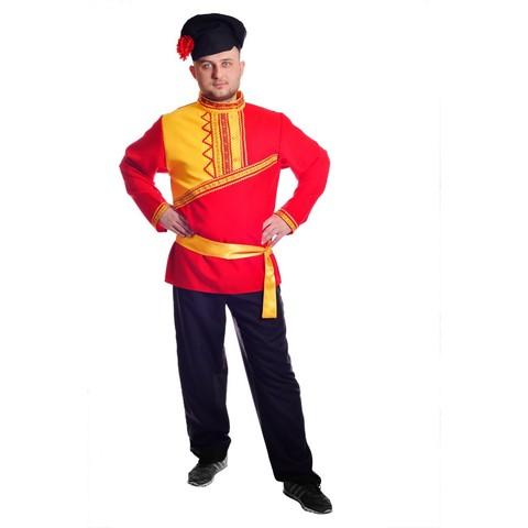 Костюм Барин в красной рубахе