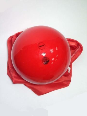 Мяч AMAYA 18,5 см однотонный красный для художественной гимнастики