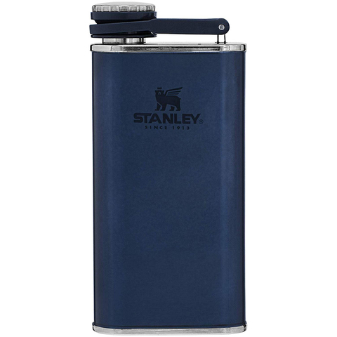 Фляга Stanley The Easy-Fill Wide Mouth Flask (10-00837-185) 0.23 л синяя