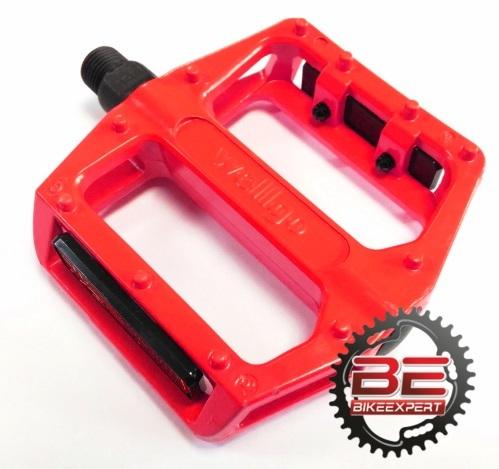 Педали Wellgo B087 красные