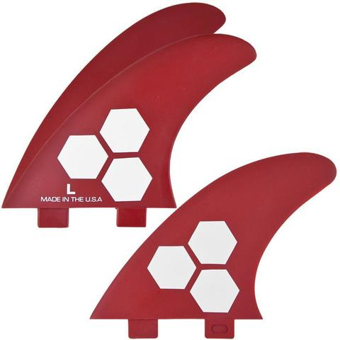 Channel Islands FCS Thruster L Red