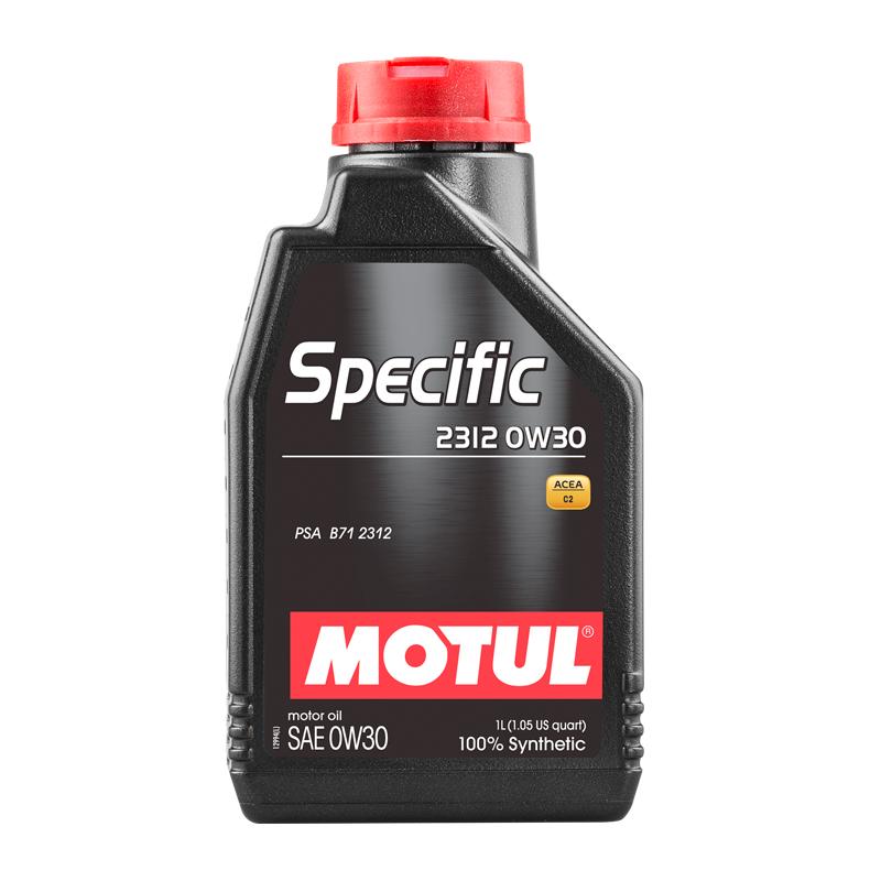 Motul Specific 2312 0W30 Синтетическое моторное масло