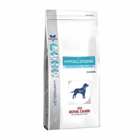 Сухой корм Royal Canin Hypoallergenic Moderate Calorie - 1,5 кг