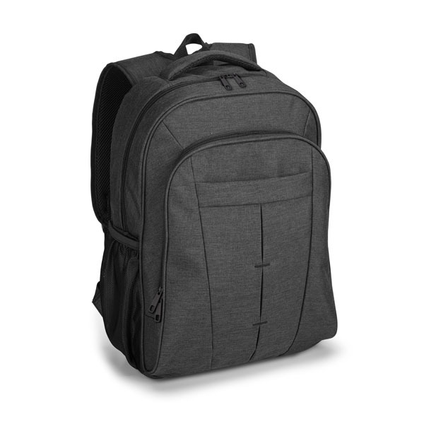 Arno Laptop Backpack, grey with black